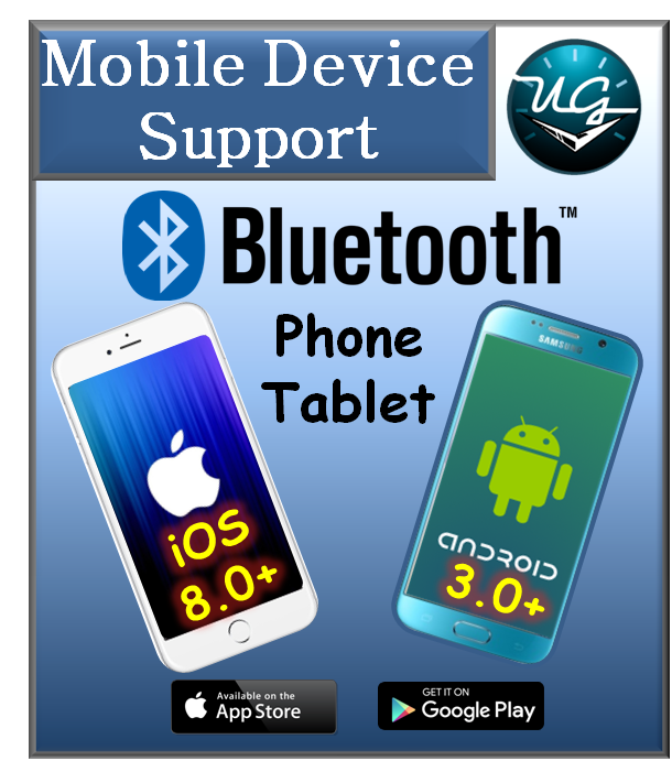 Button to Bluetooth Mobile Device